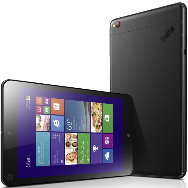 The new thinkpad tablet 8 from lenovo