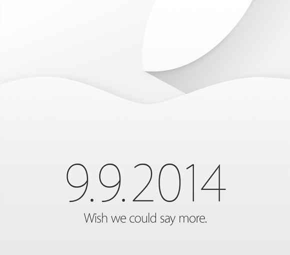 Apple event to take place on September 9th.