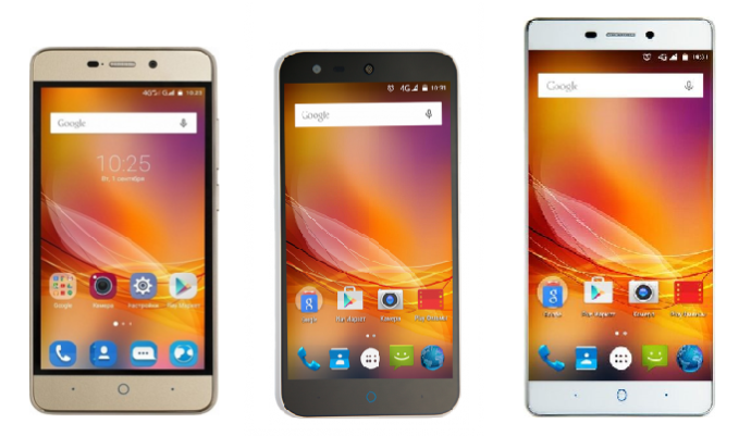 New ZTE Blade models on sale now