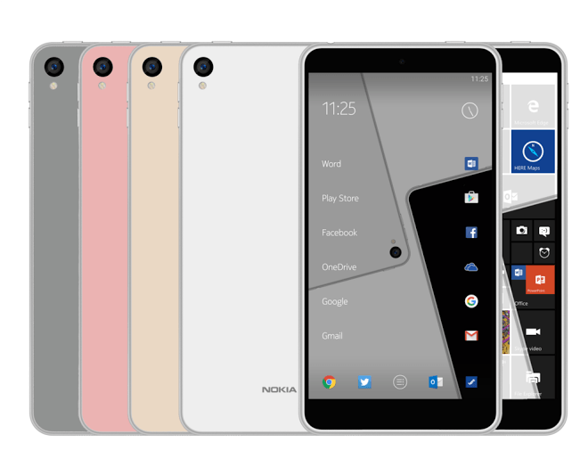 Possible specifications for the Nokia C1