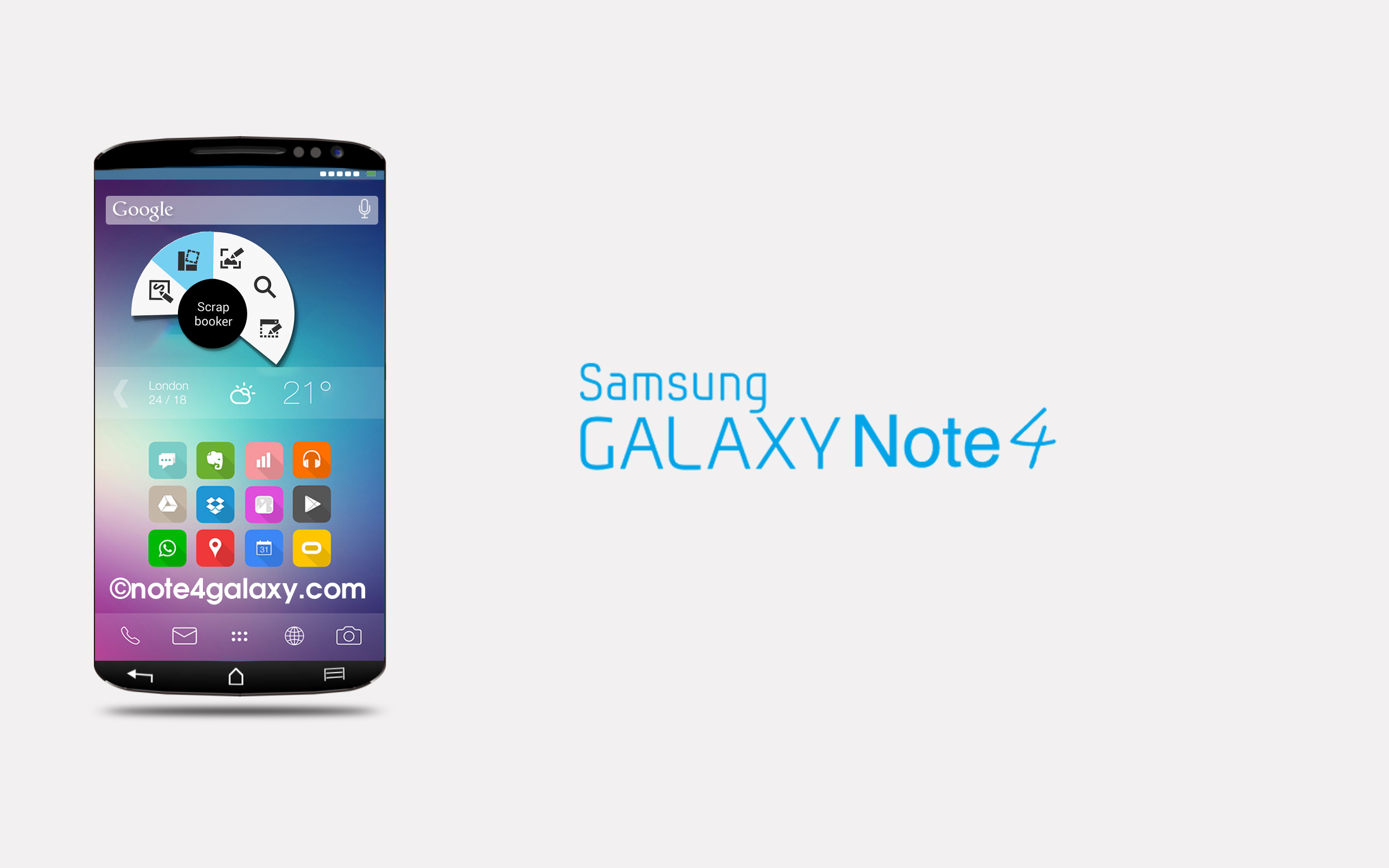 Samsung galaxy Note 4 with Android 5.1.1 for European version
