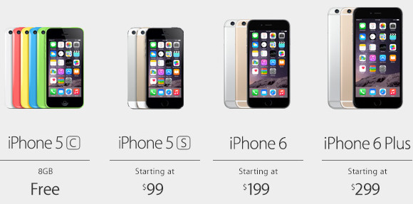 Lower prices for all iPhone models