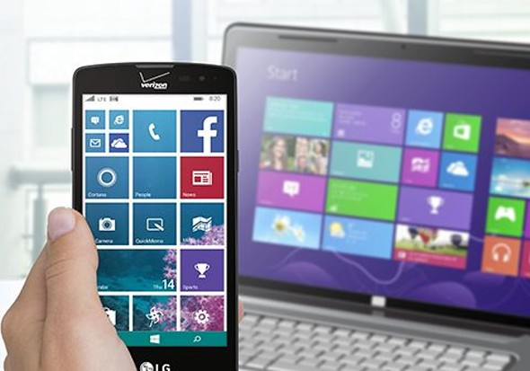 New LG device with Windows system on May 21