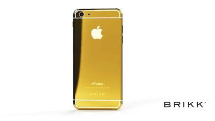 Brikk offers Gold iPhone 6