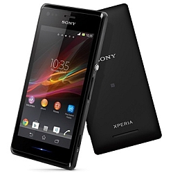 Unlocking by code Sony Xperia M
