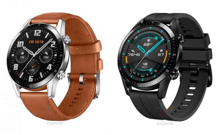 First renders of Huawei Watch GT 2 leaked