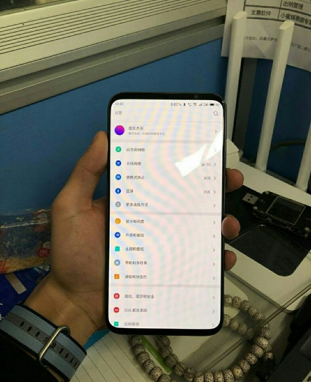 Meizu 16s, picture and specs