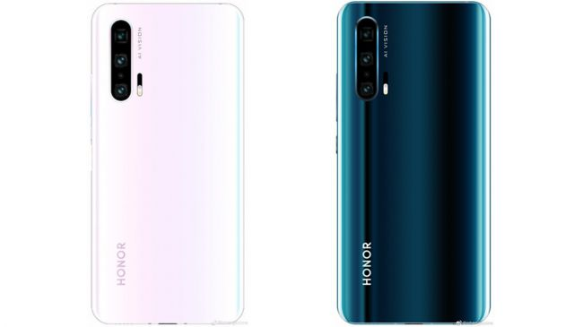 New render of Honor 20 Pro is out