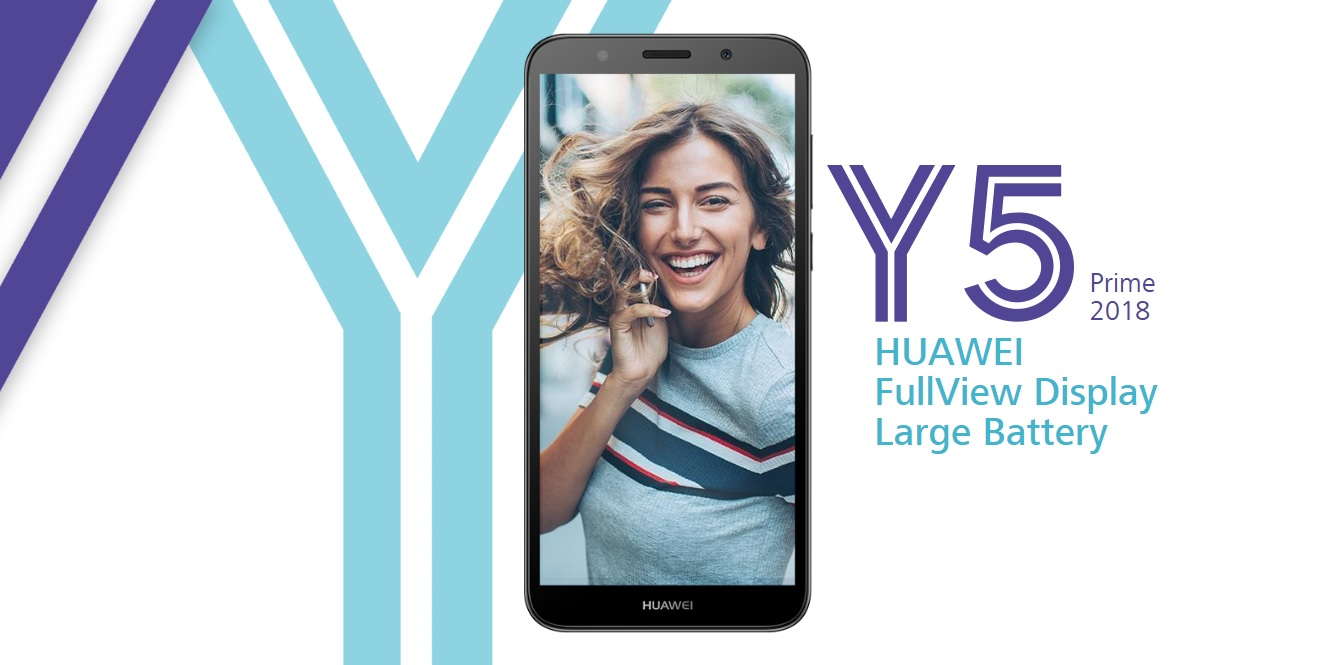 Huawei Y5 Prime (2018) unveiled; mid-ranger with 8.1 Oreo