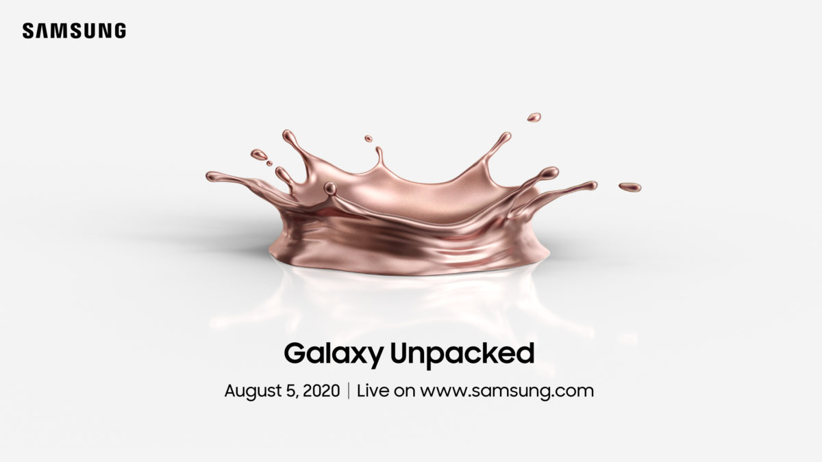 Alright, children, the time for speculation is over. Galaxy Note 20 will be released on August 5