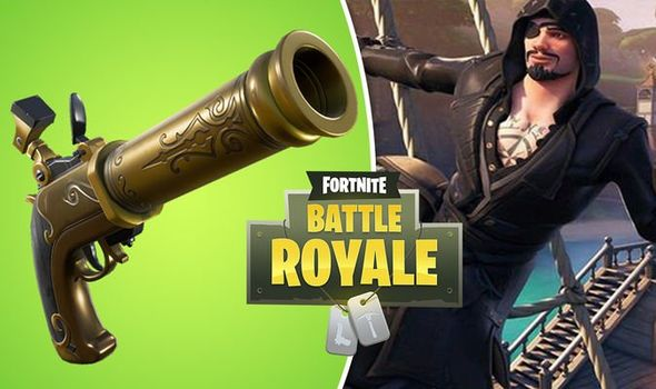 Fortnite v8.11 patch, flintlock pistol & more
