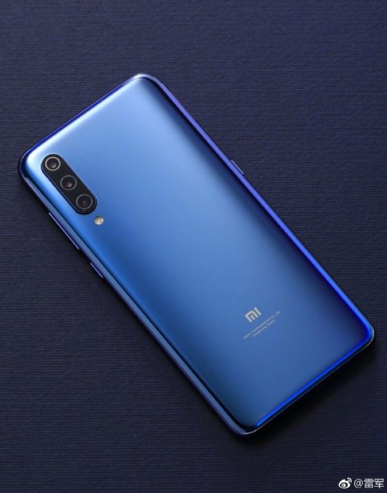 Official renders of Xiaomi Mi 9 rear