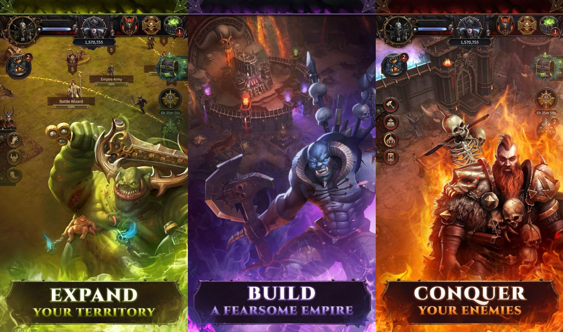 Chaos & Conquest, new Warhammer mobile game is coming out later this year