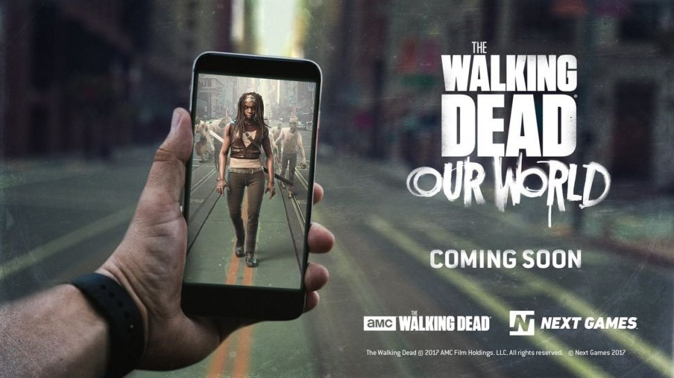 The Walking Dead: Our World, a new AR game has been announced