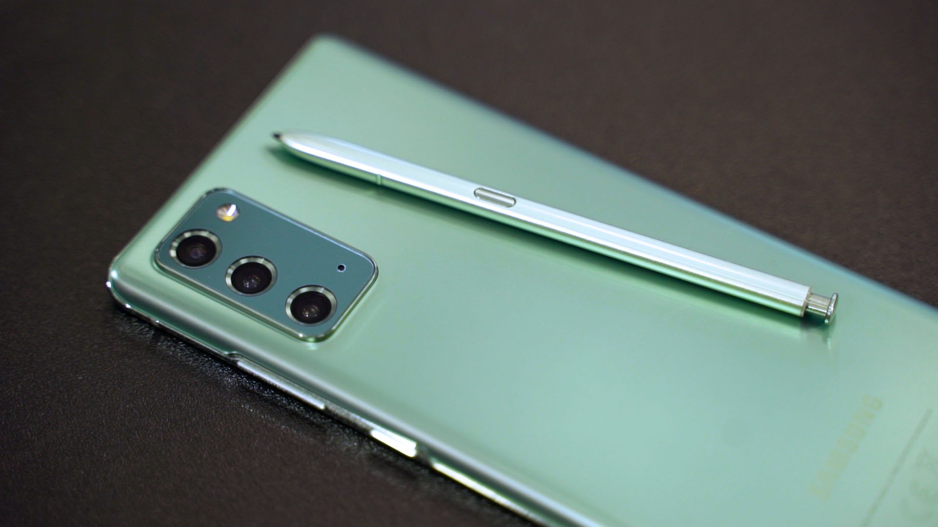 Galaxy Note 20 in Mystic Green launches ...