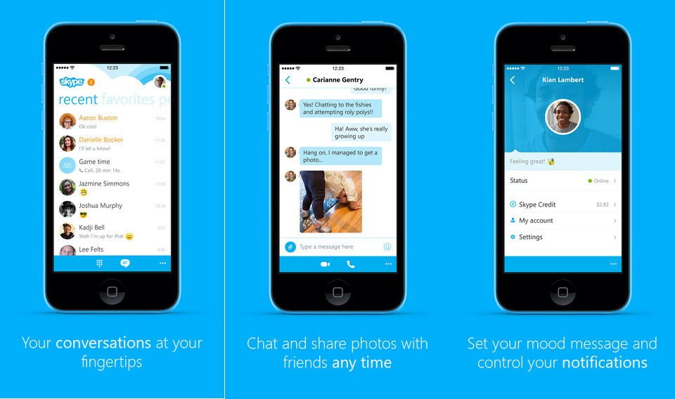 skype for iphone 8