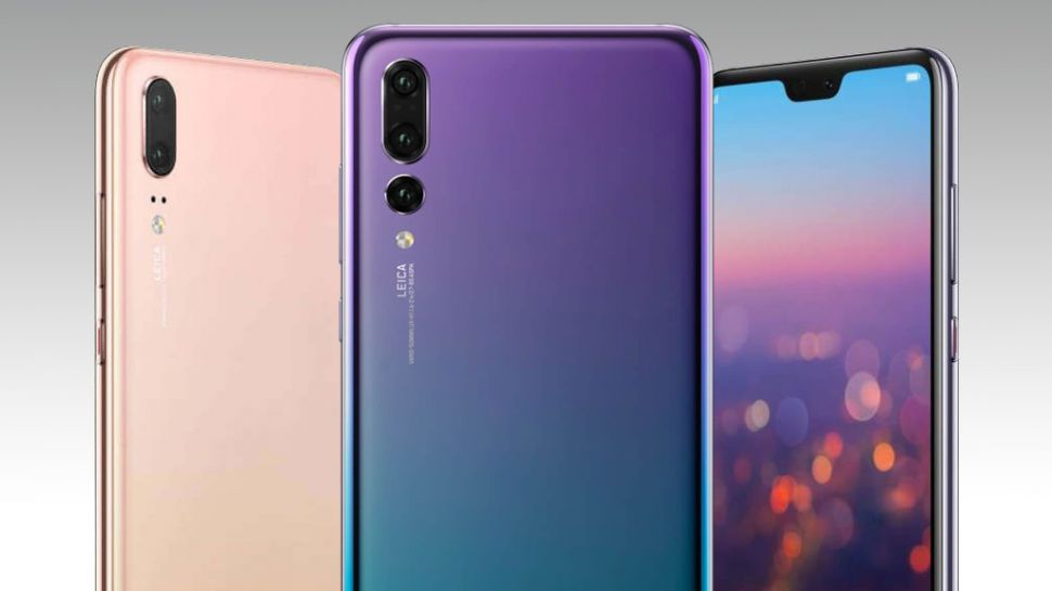 Huawei P20. So shiny, much colour. Wow