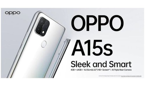 OPPO A15s officially. Specs, price and availability