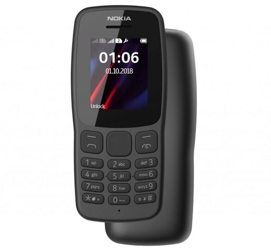 Nokia 106 (2018), or return of the kind-of-a-classic