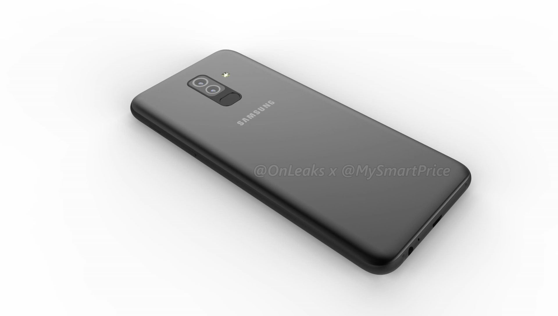Unofficial renders of Samsung Galaxy A6 and A6 Plus leaked online