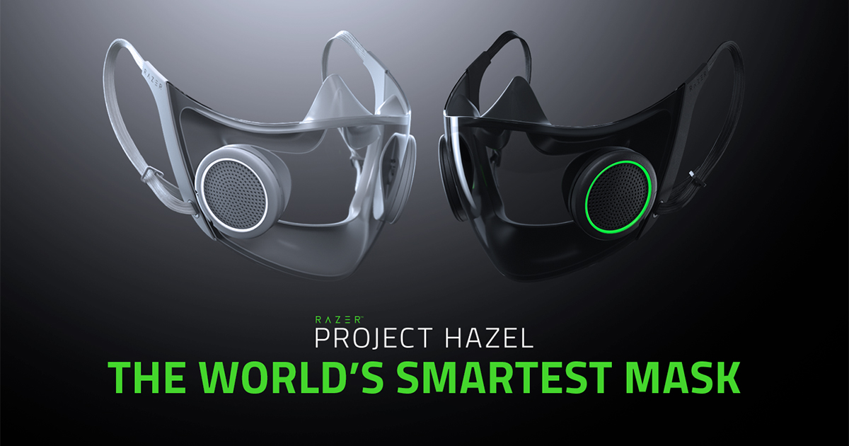 Razer Hazel new revolution on the market. Amazing protective mask with RGB lights.