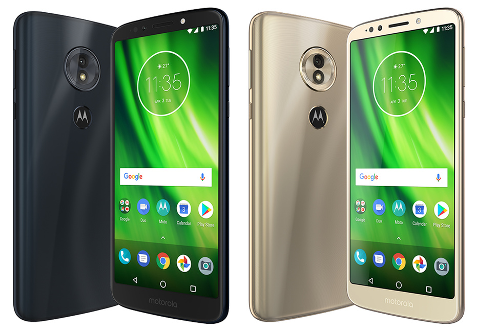 Unlocked Motorola Moto G6 available with free case and screen protector