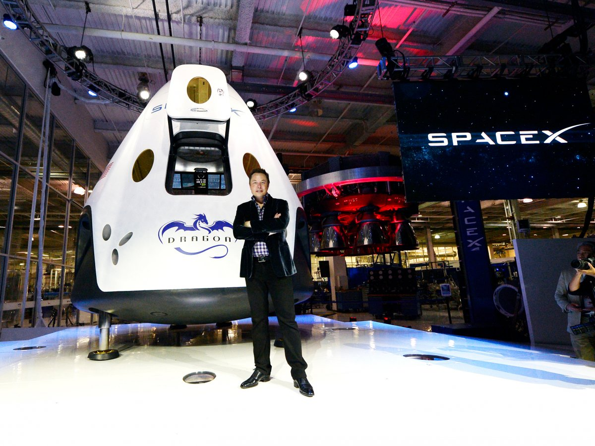 Space tourism with SpaceX