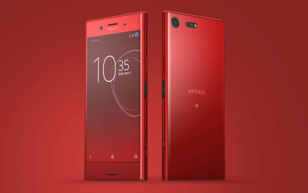 Sony Xperia XZ Premium. New colour and update to Android Oreo