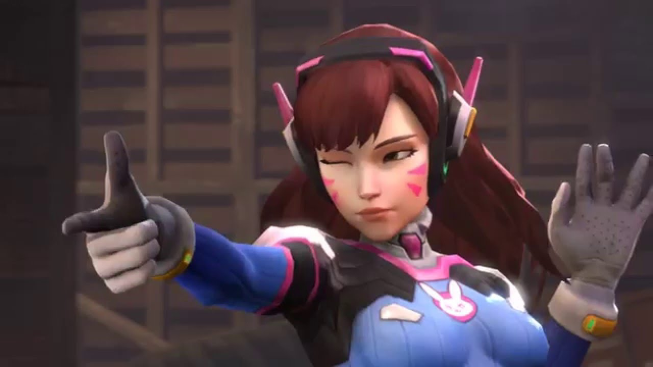 Overwatch character D.Va temporarily removed from the game