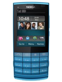 Unlocking by code Nokia X3 Touch and Type