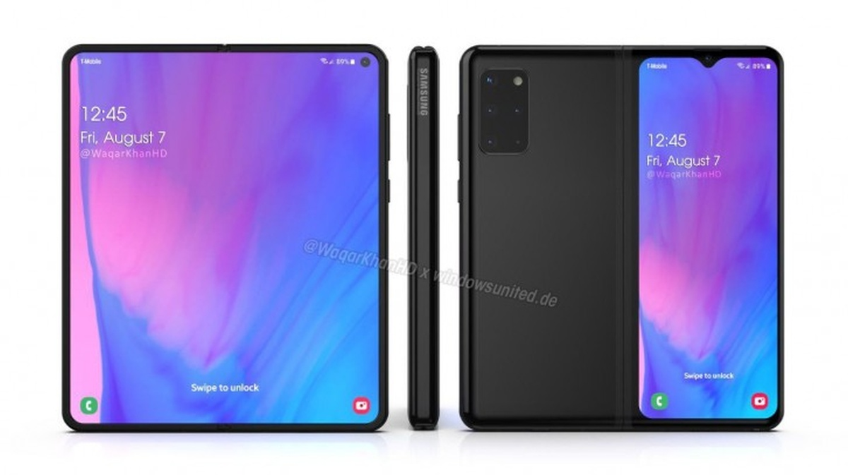 New renders of Samsung Galaxy Fold 2 have been published online