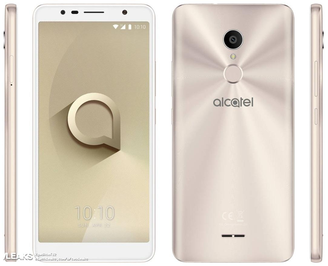 Leaked render of Alcatel 3C