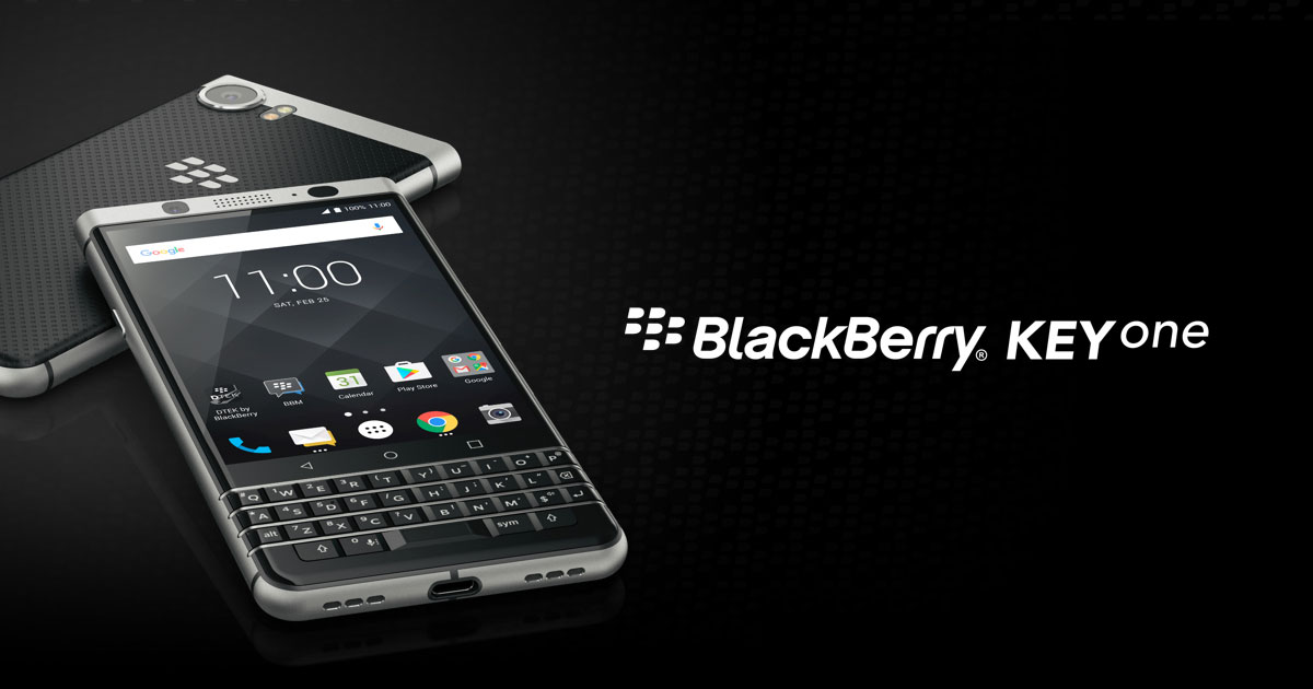 Unlocked BlackBerry KEYone is now out of stock in Canada
