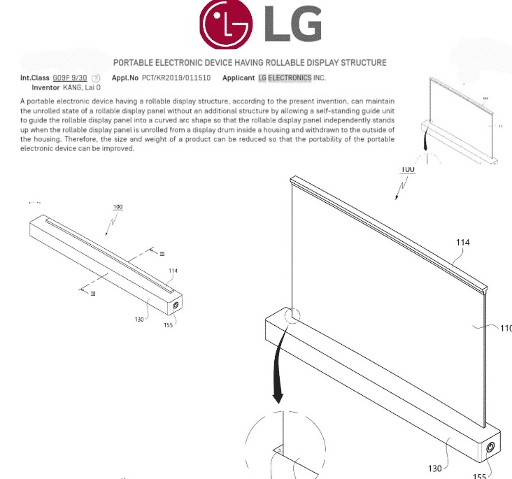 LG patented a foldable laptop