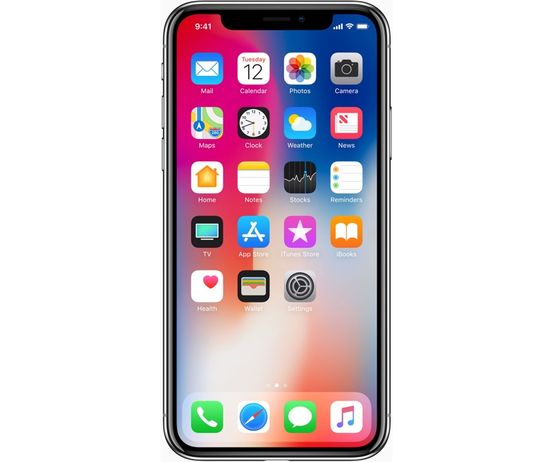 iPhone X again. This time it seems that Apple's new smartphone does not like cold
