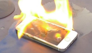 What to do when your phone catches on fire