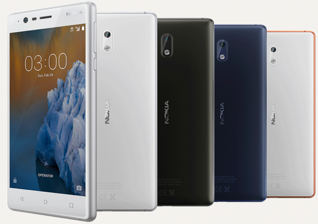 Nokia 3 - budget phone's specification