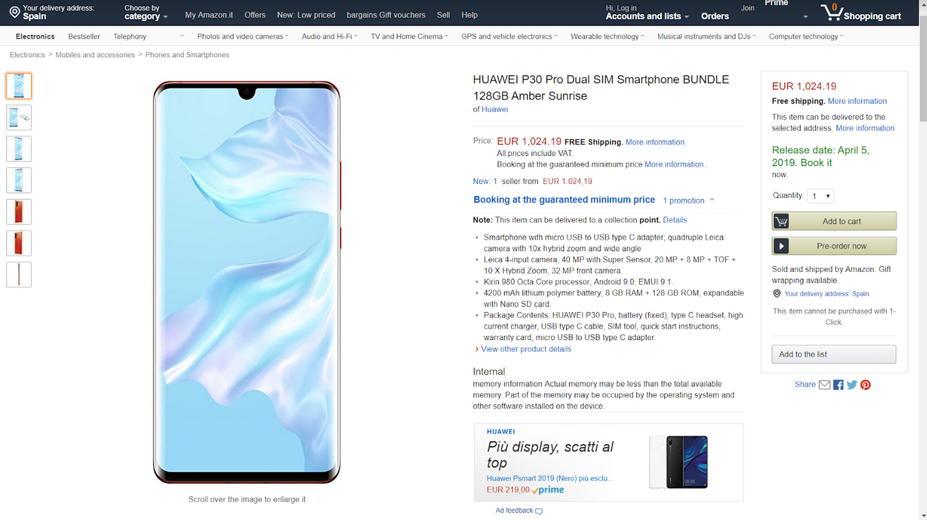 We have learned the possible release date of Huawei P30 Pro