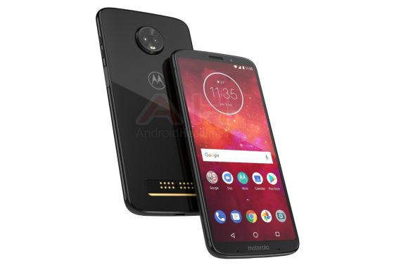 New render of Motorola Moto Z3 Play is out
