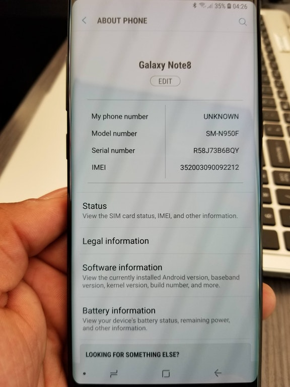 Samsung Galaxy Note 8 Oreo update is out, again | Sim-unlock