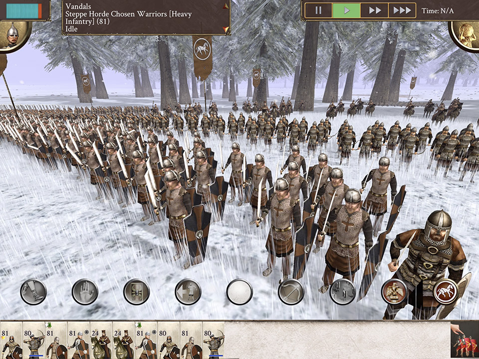 Rome: Total War - Barbarian Invasion released on iPhones