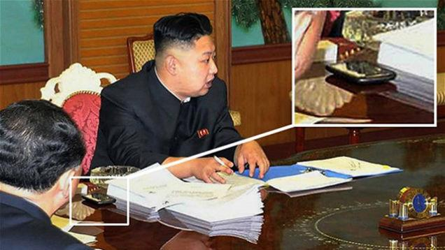 Kim Jong-Un uses a HTC phone, in case you care