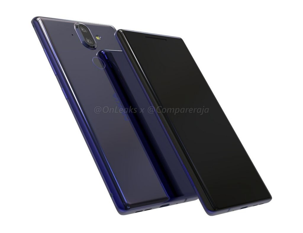 Nokia 9 renders leaked, curved design and more