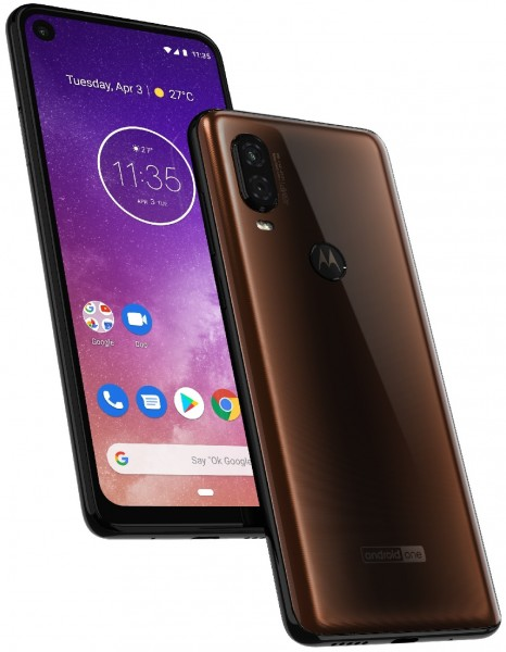A new render of Motorola One Vision