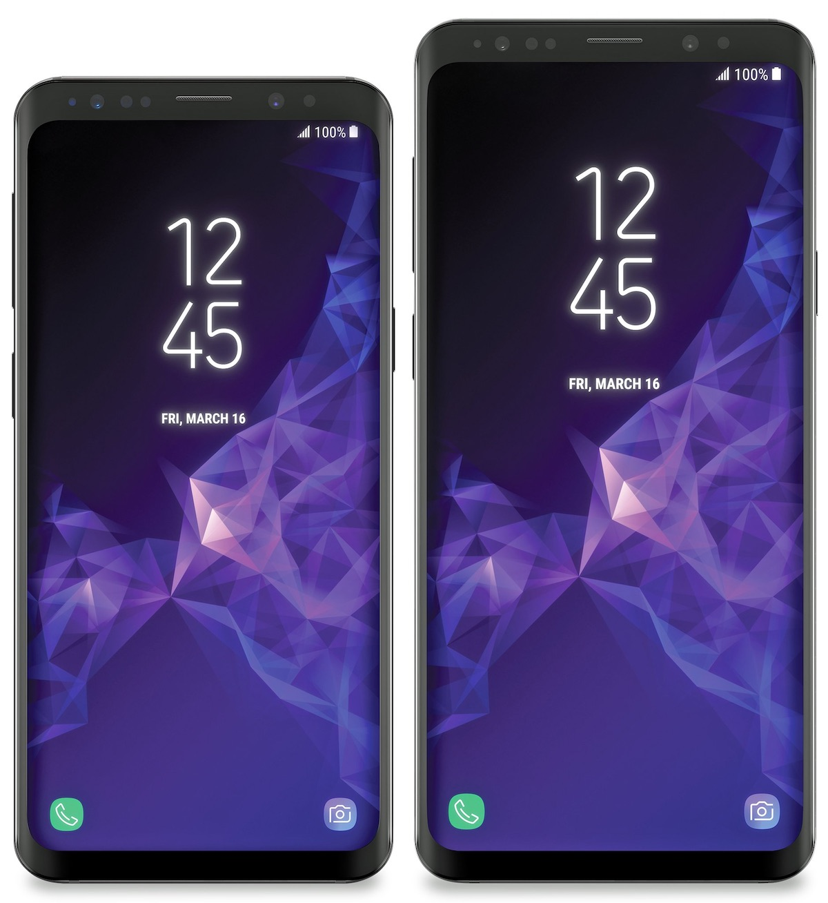 Verizon and Sprint Galaxy S9 and S9 Plus have their OS
