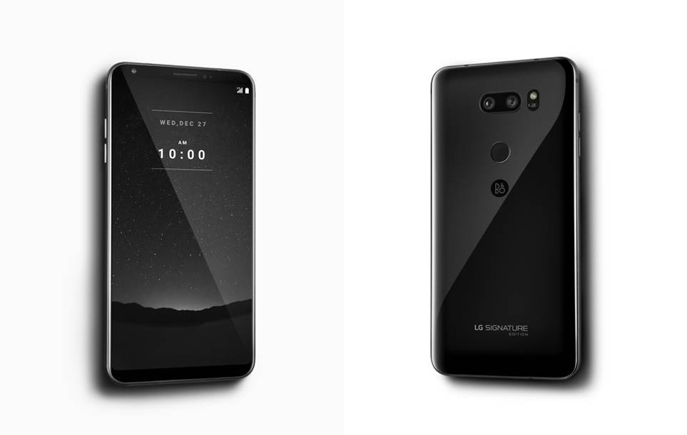 LG Signature Edition. An extremely premium phone with 6GB RAM, OLED display and more