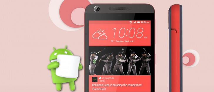 Android 6 0 Marshmallow ahora sembrando a HTC Desire 626s de Sprint