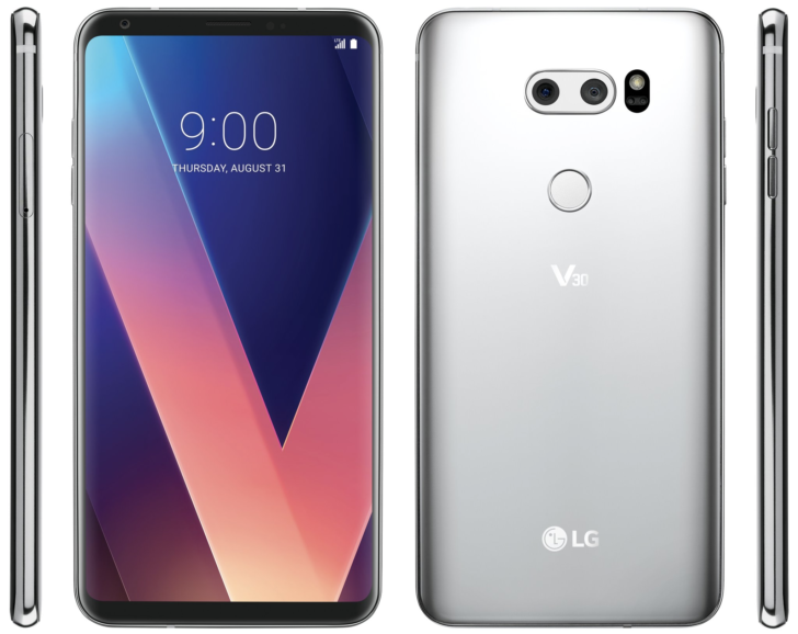 LG V30 has had its official render leaked