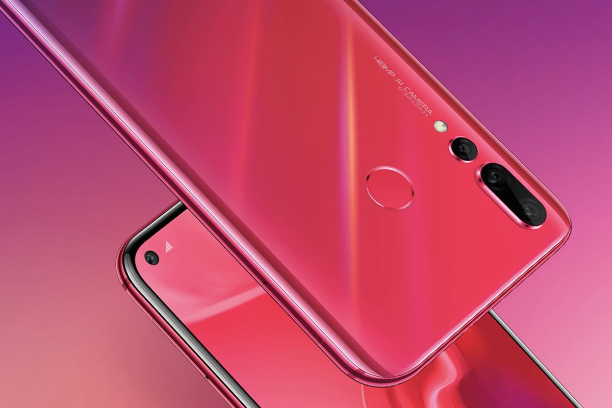 Huawei Nova 4 premiered. What, where ...