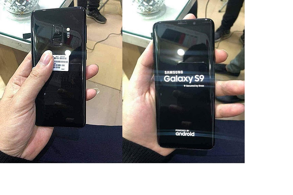 Samsung Galaxy S9 in the flesh! New pictures show Galaxy S9 live